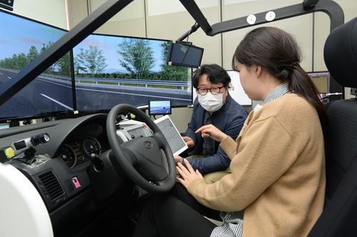 수동 운전 모드라도 전화 걸려오면 자율차가 알아서 운전