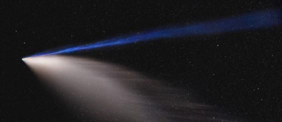 6800년만 찾은 귀한 손님 니오와이즈 혜성 붉은꼬리까지 보인다