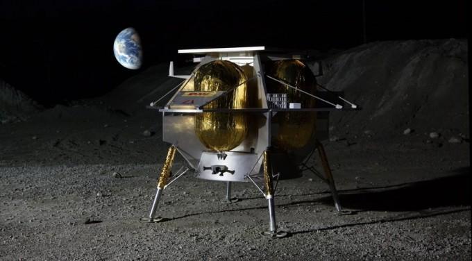 상업 달 탑재체 서비스(CLPS)는 민간 우주기업이 개발한 달 착륙선에 달에서 이용할 과학기술 실험 탑재체를 실어 보내는 전략이다. 애스트로보틱이 개발한 달 착륙선은 올해 중 CLPS 임무를 통해 달에 착륙할 예정이다. 애스트로보틱스 제공