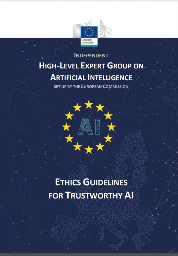 유럽연합(EU)이 마련한 고위험 AI 규제 법안. 보고서 캡처