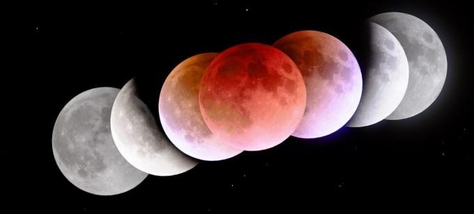 2018년 1월 31일 박영식 한국천문연구원 선임연구원이 촬영한 개기월식. 지구 대기를 지난 태양 빛이 굴절돼 달에 도달하는데 이 때 산란이 일어나 붉은빛이 달에 도달하기 때문에 달이 붉게 보인다. 천문연 제공.