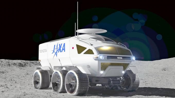 일본 JAXA가 도요타와 함께 개발중이 가압 로버. JAXA 제공