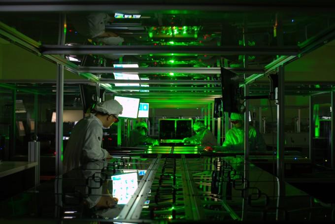 페타와트(PW) 레이저를 실험하는 모습이다. IBS 제공