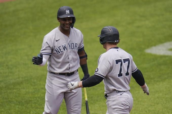 미국프로야구 메이저리그(MLB) 뉴욕 양키스팀에서 코로나19 환자 9명이 발생했다. AP/연합뉴스 제공