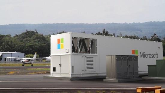 애저 모듈러 데이터센터. 컨테이너 형태의 데이터센터로 완전한 형태로 원격 위치에 배포하거나, 현장에서 이동 가능한 솔루션으로 기존 인프라를 확장할 수 있는 기능을 제공한다. 한국마이크로소프트 제공