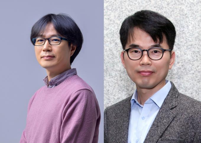 이종석 GIST 교수(왼쪽)와 박제근 서울대 교수. GIST 제공.