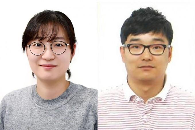 왼쪽부터 임정아·주현수 KIST 광전소재연구단 책임연구원. KIST 제공