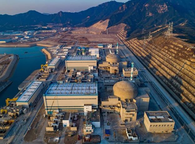 중국 광둥성 타이산 원전에 유출 사고가 발생한 것으로 보인다는 보도가 나왔다. EDF 제공