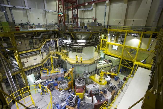 한국원자력연구원의 연구용 원자로 ′하나로′가 3년만에 정상 재가동했다. 한국원자력연구원 제공