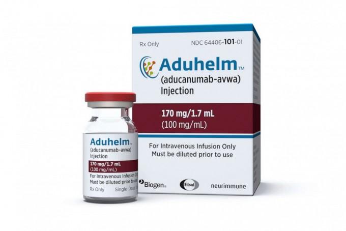 미국 식품의약국(FDA)이 7일(현지시간) 미국 제약사 바이오젠과 일본 제약사 에자이가 공동 개발한 알츠하이머 치료제 '아두카누맙'을 승인했다. 미국 바이오젠 제공