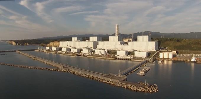 원자로 4기에 대한 폐로 작업이 시작된 일본 후쿠시마 제2 원전. 2011년 사고가 난 후쿠시마 제1 원전에서 남쪽으로 12km 떨어져 있다. 위키피디어 제공