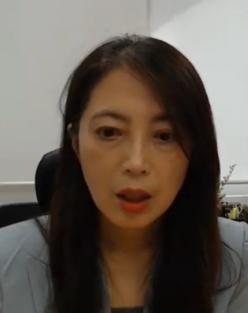 유명순 서울대 보건대학원 교수가 토론회에서 온라인으로 발표하고 있다. 동영상 캡처.