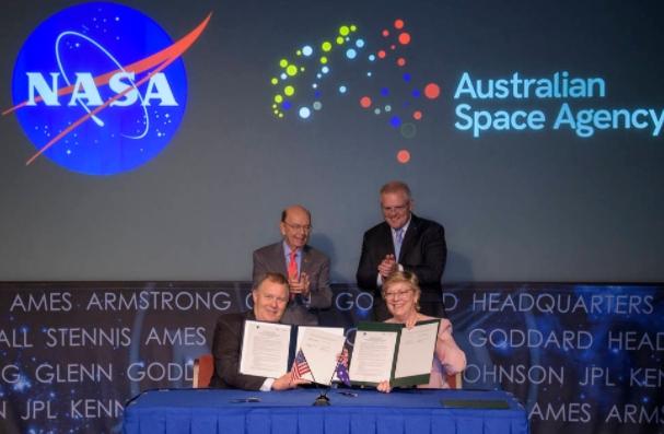 2019년 9월 스콧 모리슨 호주 총리가 미 항공우주국의 유인 달 착륙 프로젝트인 아르테미스 계획에 협력한다고 밝혔다. 5년간 1억 5,000만 달러를 투입할 예정이다. 호주 항공우주국 제공