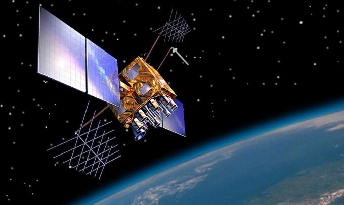 미국식 위성측위시스템(GNSS)인 GPS(위성위치확인시스템). 미국해양대기청 제공