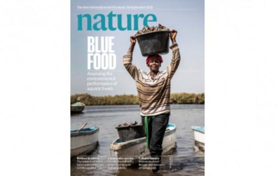 [표지로 읽는 과학] 환경 덜 파괴하고 식단 개선하는 '블루푸드'