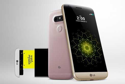 역대급 변신한 LG G5, 갤럭시 S7 대항마 될까?