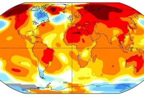 """미국항공우주국(NASA) """"올해 4월, 역대 4월 최고 기온"""""""