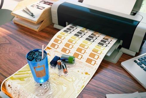 종이 위에 배터리를 인쇄한다고?