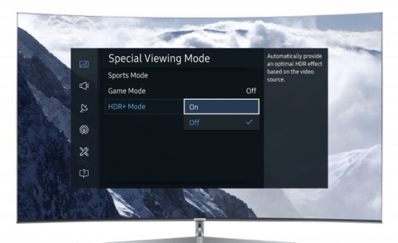 HDR플러스 기능으로 퀀텀닷 SUHD TV 화질 업그레이드