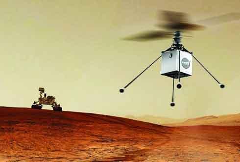화성에 사람 대신 '드론' 보낸다!