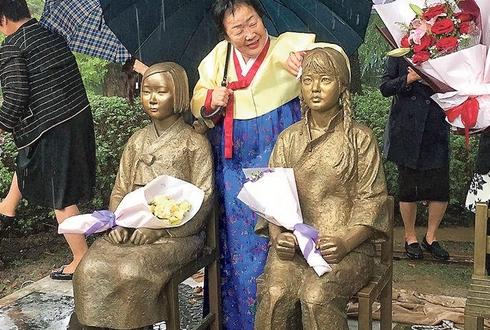 중국 최초 한중 합작 평화의 소녀상이 상하이에 설치된 이유가 뭘까?