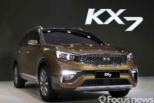 기아차, 中 광저우 모터쇼서 전략형 SUV 'KX7' 공개