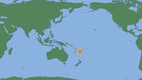 남태평양 피지 연안서 규모 7.2 강진…