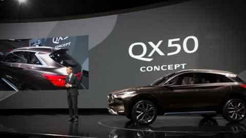 인피니티, 디트로이트 모터쇼서 중형 프리미엄 SUV 'QX50 콘셉트' 공개