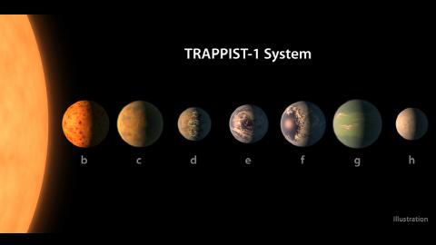 [표지로 읽는 과학] 지구 7개 가진 태양계 발견