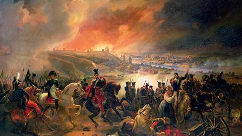 나폴레옹이 6월에 전쟁을 떠난 이유