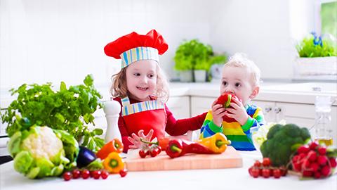 아이들 스스로 콩과 채소를 먹게 하는 방법