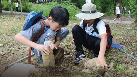 지구사랑탐사대 5기 심화교육 곤충 표본 만들기