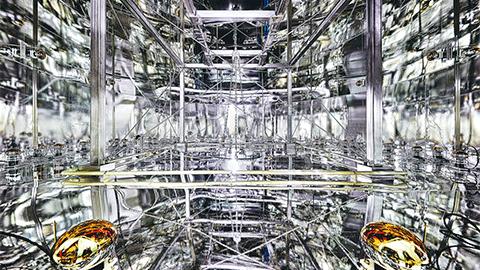 국제과학사진대회 2017 수상작 암흑물질 찾는 제논1T