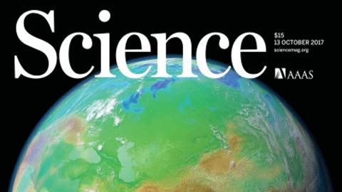 지구온난화 주범, 우주에서 찍은 대기 속 CO2 분포도