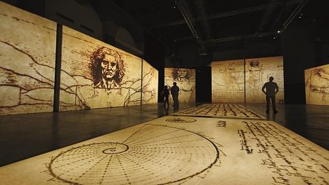 레오나르도 다빈치의 삶을 기술로 다시 만난다