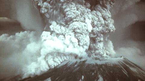 화산재 덮인 빙하기, 생명체 질식사 등 상상초월 화산피해