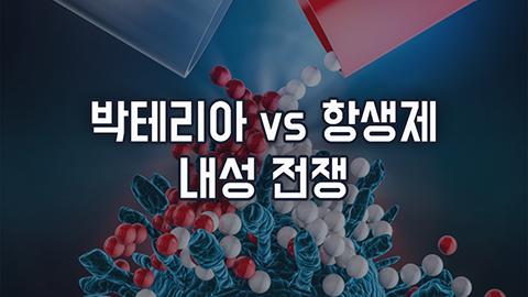 [카드뉴스] 박테리아 vs 항생제 내성 전쟁