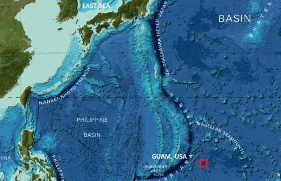 서태평양 심(深)해저 화산에 한국 이름 새긴다