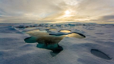 바다로 간 미세플라스틱, 빙하에 쌓인다