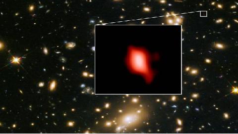 빅뱅 후 5억년 만에 이미 은하 있었다...133억년 전 초기은하 존재 입증