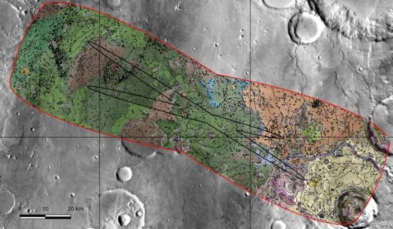 2020년 화성 가는 탐사로봇 최종 종착지는 '옥시아 플라눔'