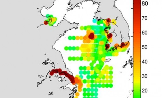 중국發 수은, 한국 서남해 해저퇴적층에 쌓인다
