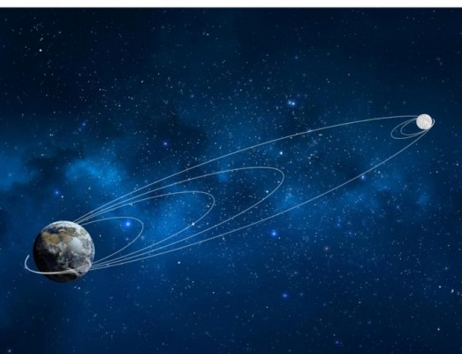 이스라엘 달 탐사선, 첫 궤도조정 실패하며 난항 중