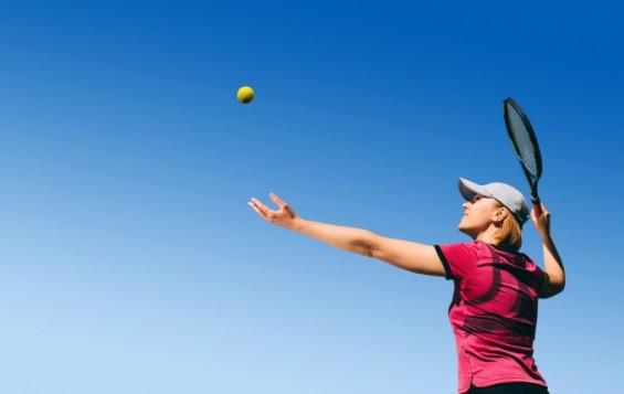 내년 올림픽 여성 단식 테니스 우승자가 자외선에 가장 많이 노출