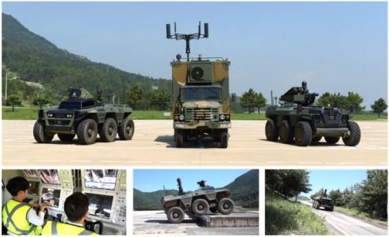 포수 없는 K9자주포, 박격포 나르는 견마로봇…軍에 부는 무인화 바람