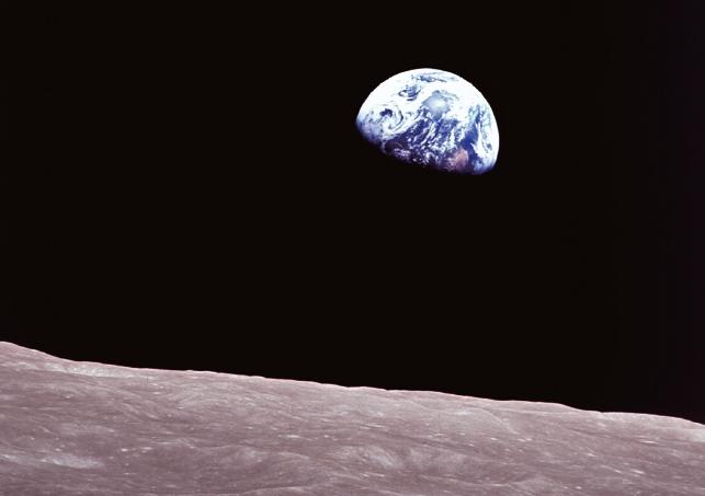 [인류 달 탐사 50년] 아폴로 계획 사상 가장 유명한 사진 '지구돋이'(1)