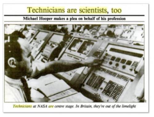 [김우재의 보통과학자] 테크니션이 아니라 '과학연구관'이라고 부르라