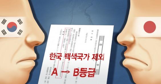 한국도 수출절차 우대국 명단에서 日 제외…사실상 '맞대응'