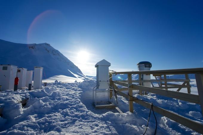 북극 초미세먼지 속 유기물질, 북극해와 동토식물서 유래