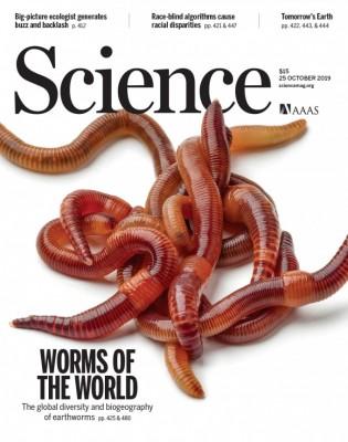 [표지로 읽는 과학] 전 세계 지렁이 지도, 지하생물 다양성 밝히다